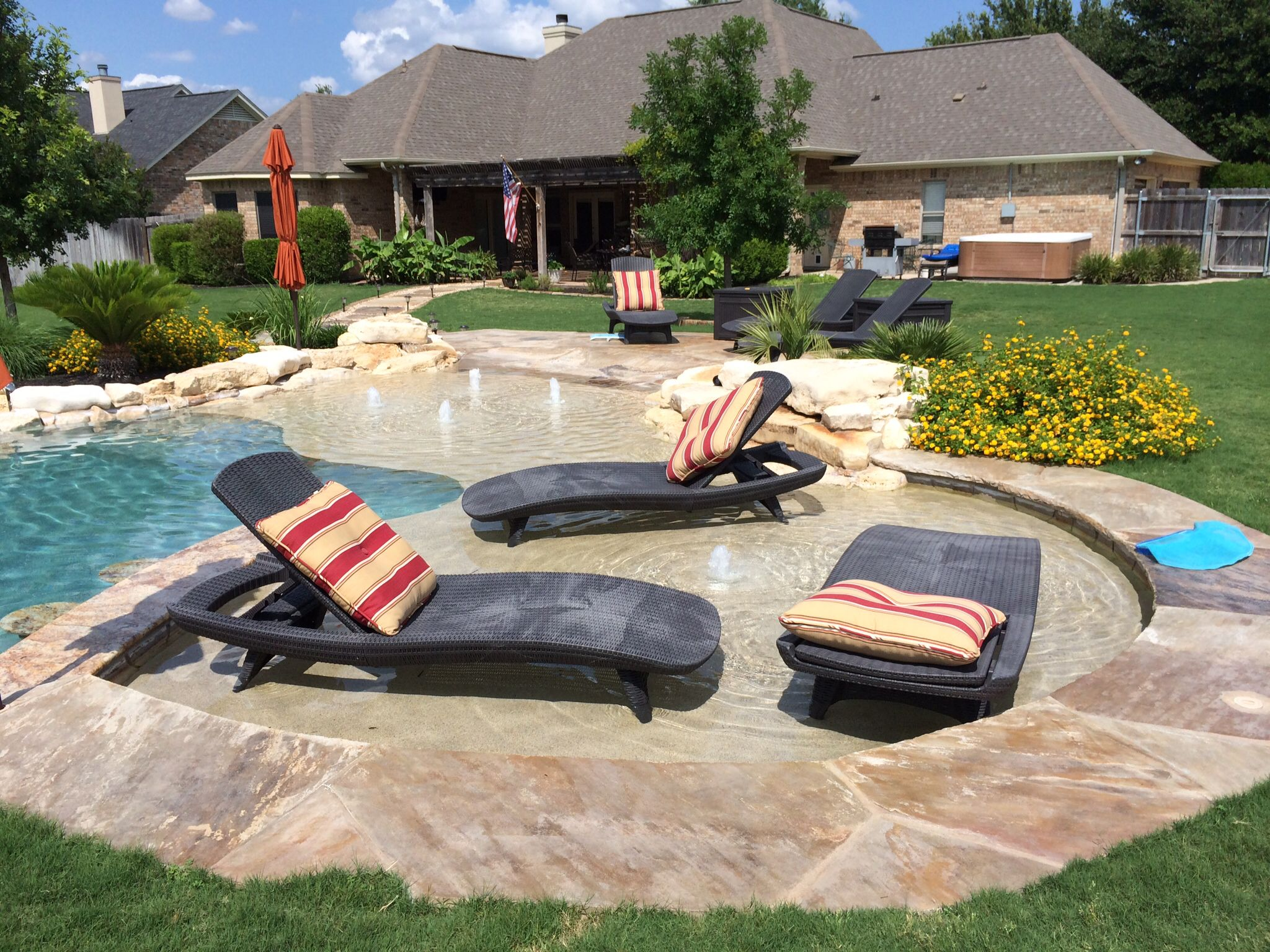 Beau Central Texas Pool And Patio