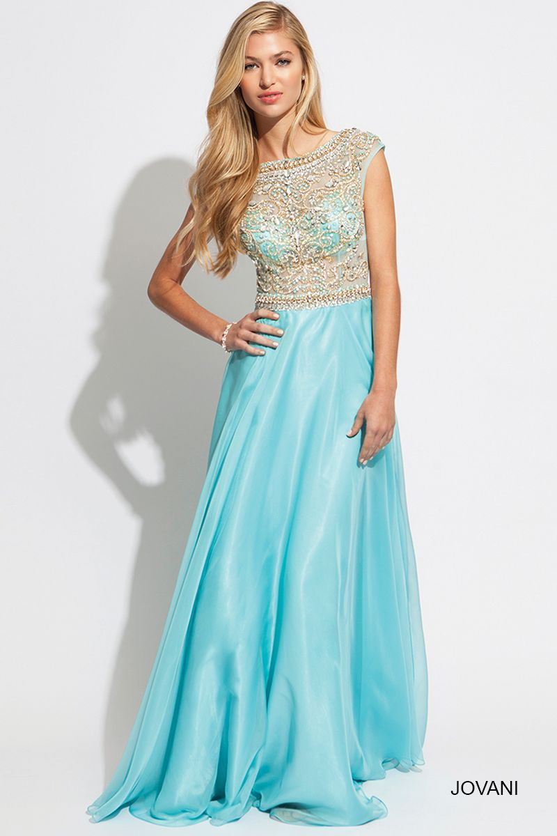 Jovani Style 88174 http://www.jovani.com/blue-dresses | Beautiful in ...
