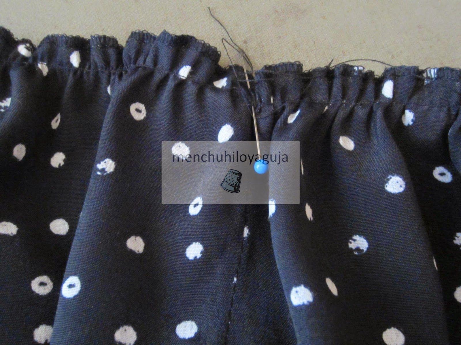 660dc549d Cómo hacer una falda canastera | creaciones | Como hacer una falda ...