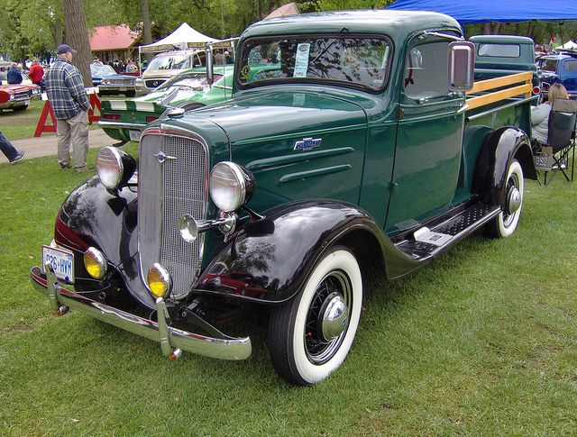 1936 Chevy Pickup Truck Chevy Pickup Trucks Chevy Pickups