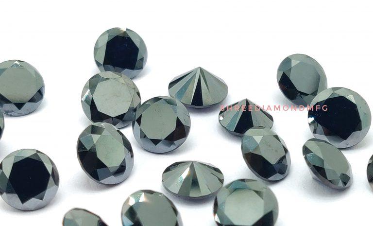 Round Fancy Black Diamond Diamond Natural Diamonds Black Diamond