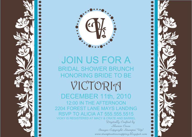 Breakfast at Tiffany's - Bridal Shower Invite