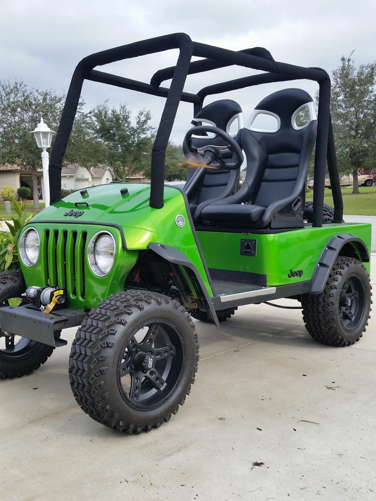 Golf Cart Body Kits Jeep : Electric, Cart,, Carts,, Carts