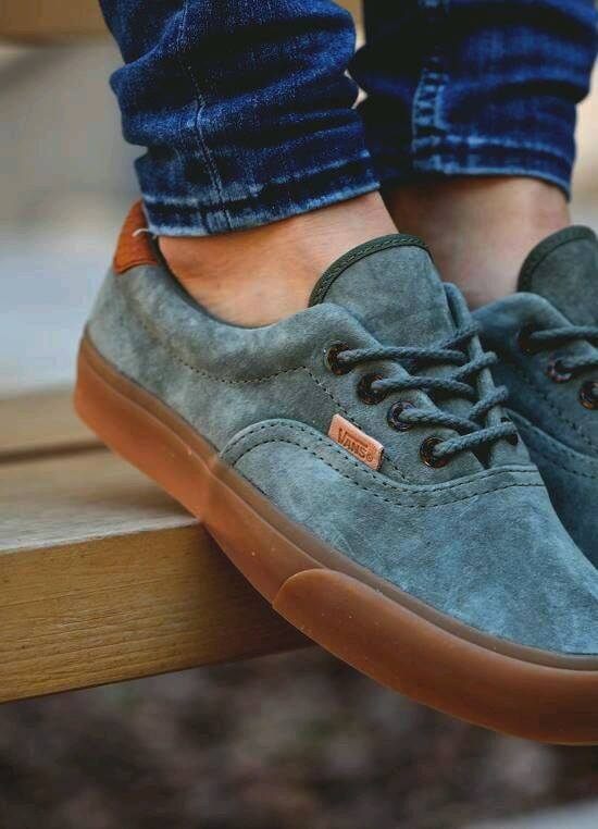 Vans Era 59 CA Suede. I have a really weird thing for suede shoes