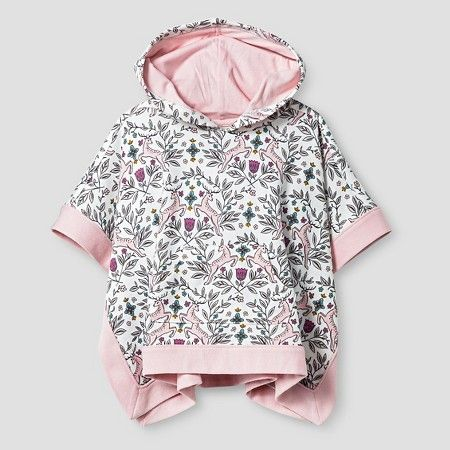 Target Baby Girl Clothes Enchanting Baby Girls' Floral Deer Poncho Cream  Genuine Kids From Oshkosh Inspiration Design