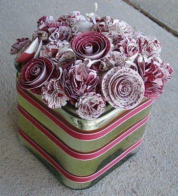 paper flowers... so pretty