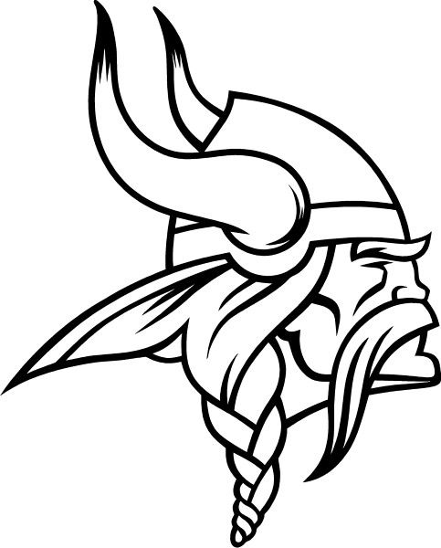 Minnesota Vikings Mascot Pages Coloring Pages