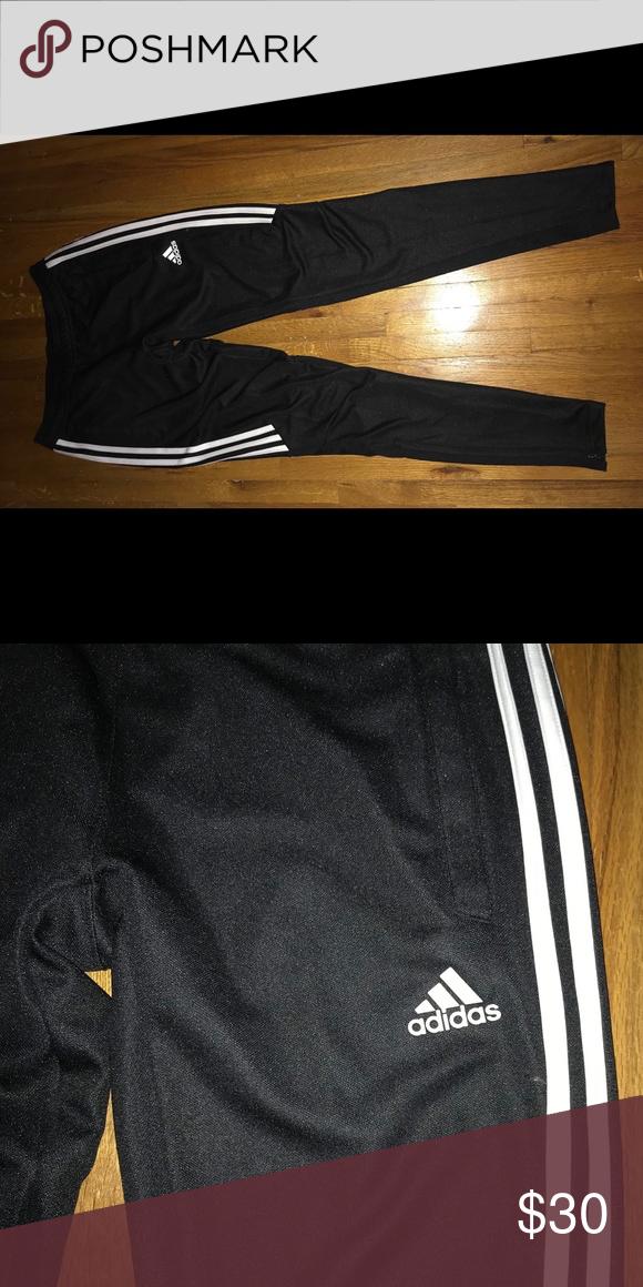 adidas Women's Tiro 17 Training Pant BlackWhiteWhite Size