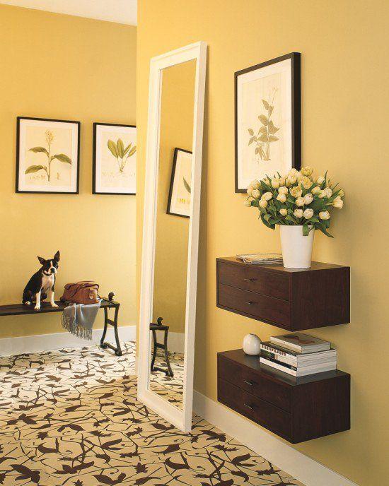 Espejo recibidor peque o decoraci n zonas de paso for Decoracion espejos entrada casa