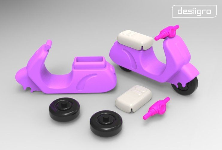Gro-Scooter 3D Printing 29189