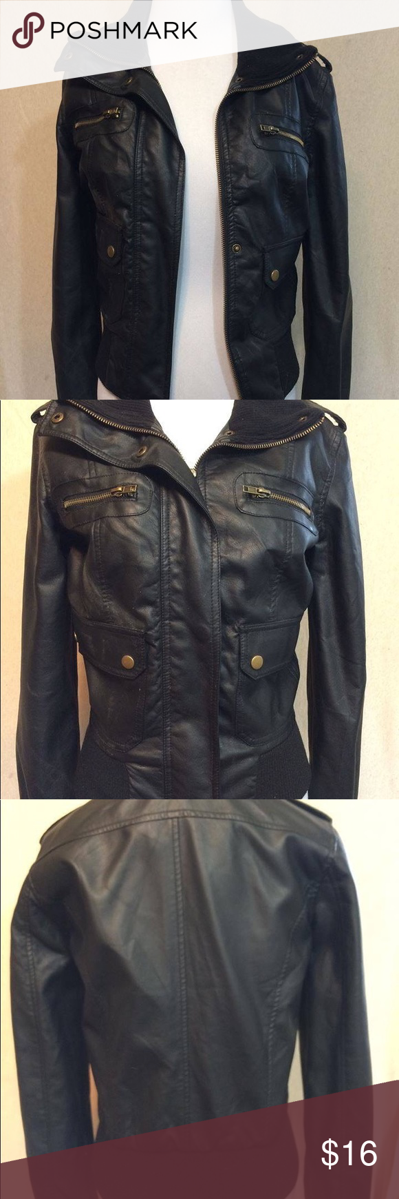 Nwot Black Bomber Jacket Black Bomber Jacket Black Bomber Ambiance Apparel [ 1740 x 580 Pixel ]