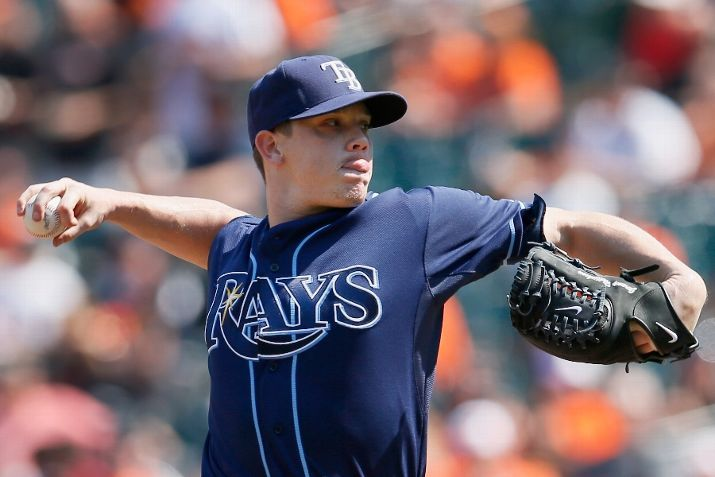 SEPTEMBER 13: Starting pitcher Jeremy Hellickson #58 of the Tampa Bay Rays throws to a Baltimore Orioles batter during the third inning at Oriole Park at Camden Yards on September 13, 2012 in Baltimore