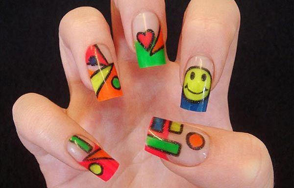 Diseños De Uñas Decoradas Diseños Acrylic Nail Art Acrylic