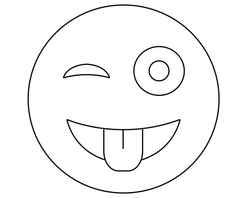 Emoji Coloring Pages To Print For Free Emoji Coloring Pages