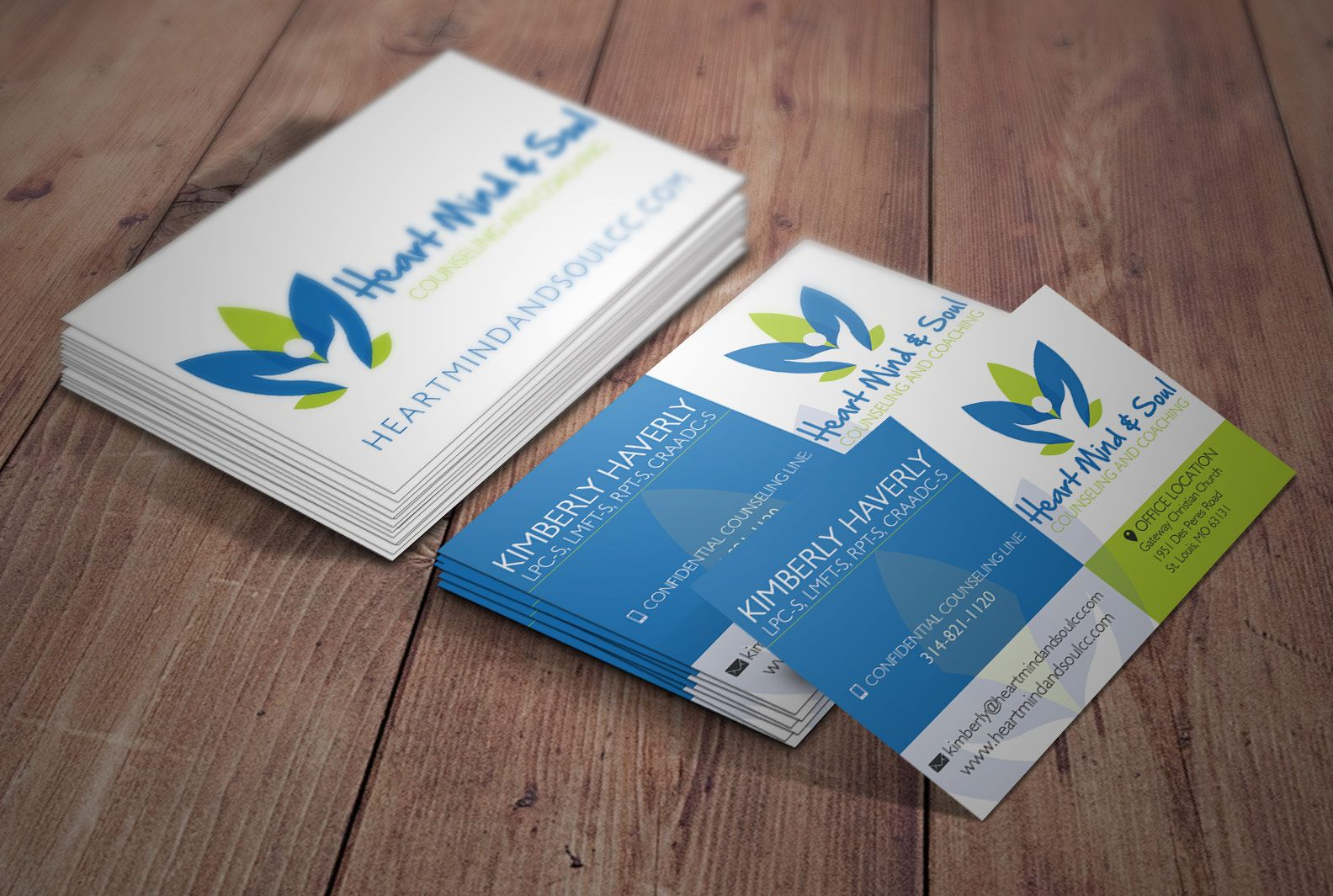 Custom designed therapist business cards and logo created by business cards magicingreecefo Gallery