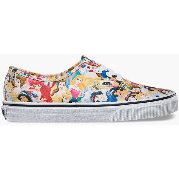 Vans Disney Multi Princess Authentic Womens Shoes ( 60) ❤ liked on Polyvore  featuring shoes 54f5a9f89d6