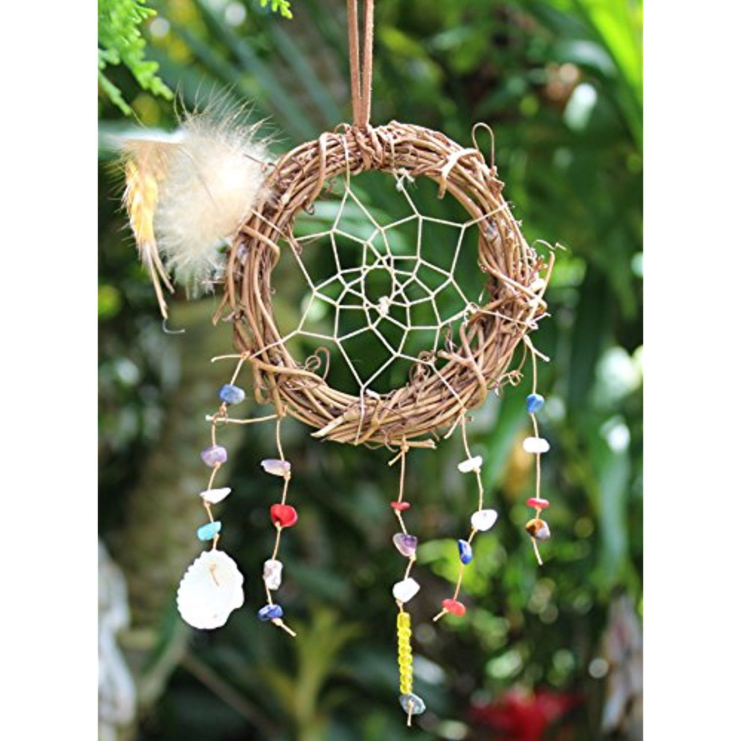 Artsicraft Large Handmade Dreamcatcher, Dream Catcher Net With Feathers Perfect