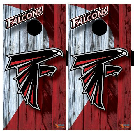 atlanta falcons corn hole board wrap by on etsy - Cornhole Board Wraps