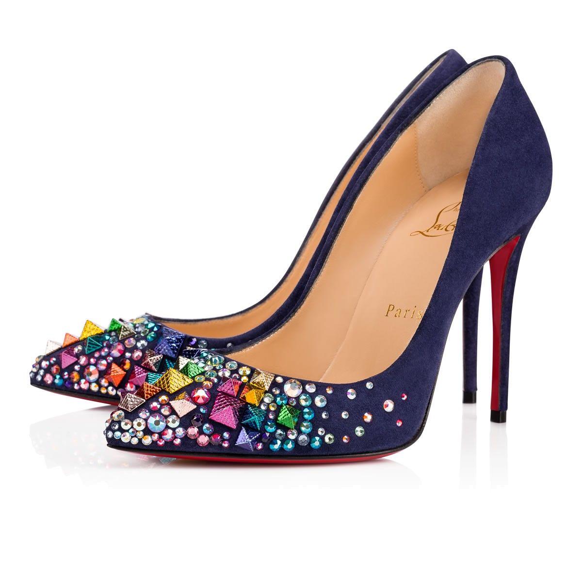 39312220d0a ... netherlands keopump 100 china blue mix multicolor strass women shoes  christian louboutin 56ead 0ce8c ...