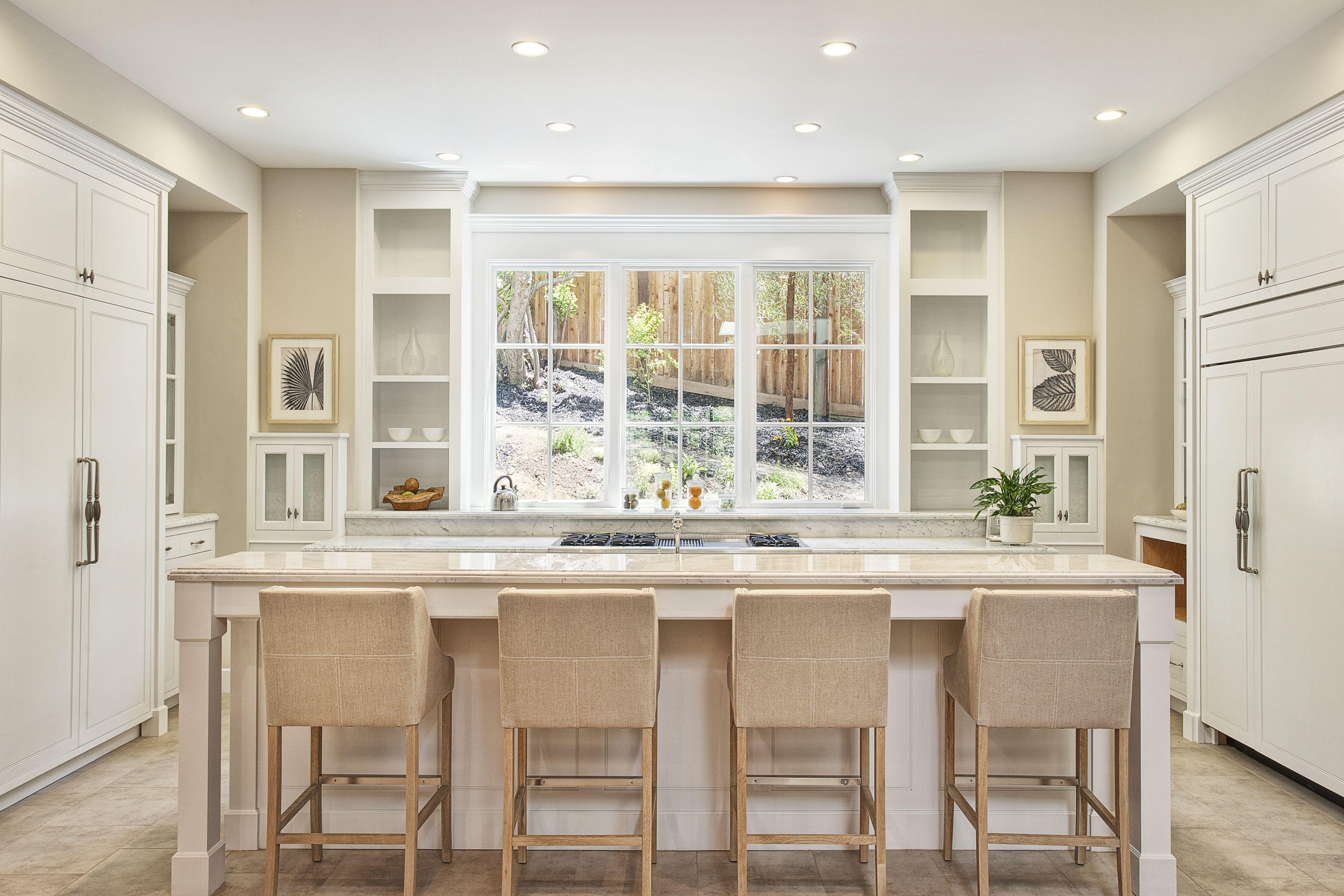 Kitchen Walls are Benjamin Moore Gray, the