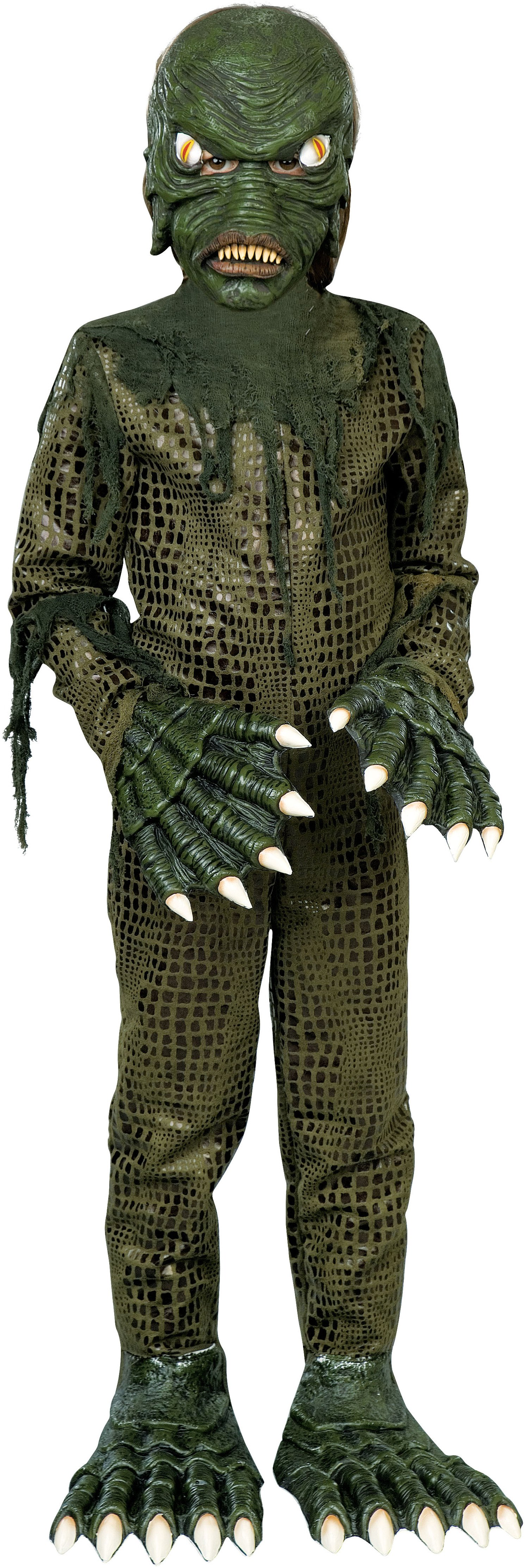 Swamp Monster Child Costume | Children costumes, Costumes and ...