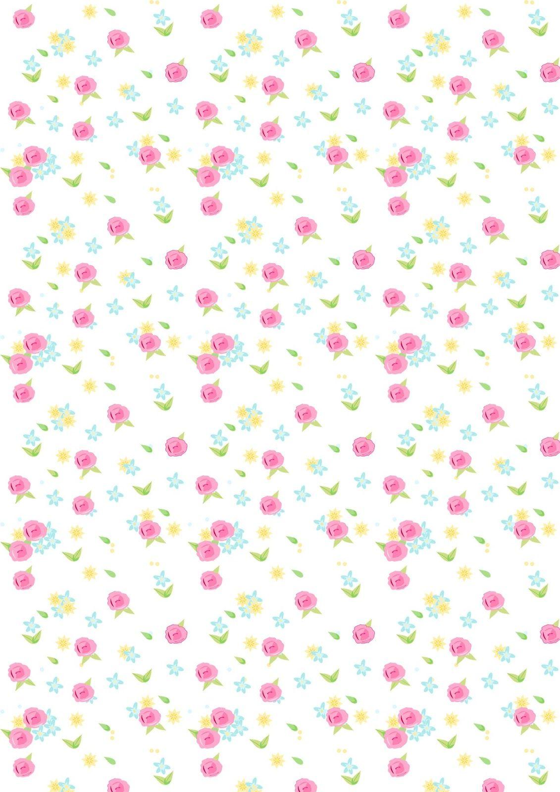 Free Digital Rose Scrapbooking Paper Ausdruckbares