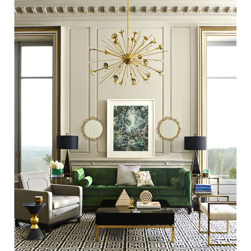 The Trick To Mixing Modern And Traditional Furniture Living Room