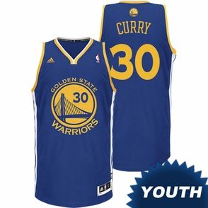 finest selection 8b932 992da Stephen Curry Youth Jersey: adidas Revolution 30 Road Royal ...