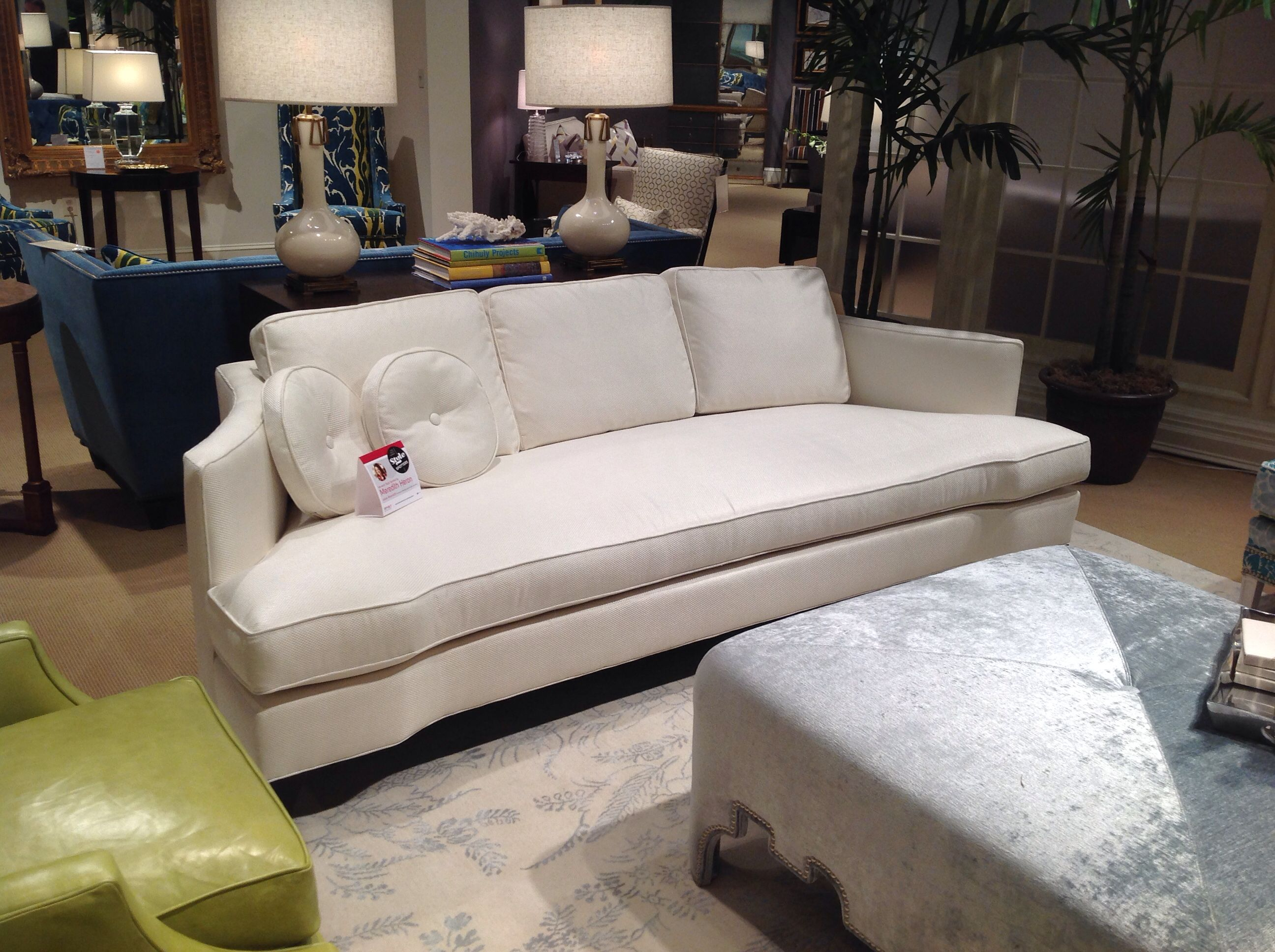Style Spotter Meredith Heron tagged our new Rosalind sofa