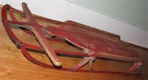 Wooden Sled - Bing Images