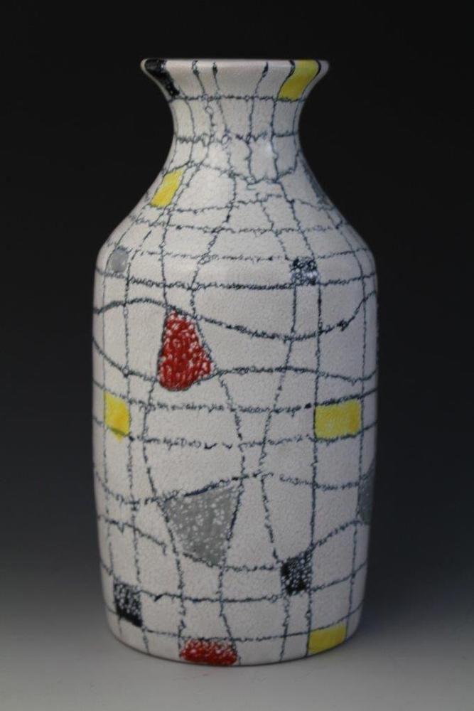 Aldo londi for bitossi italian abstract modernist raymor for Mondrian vase