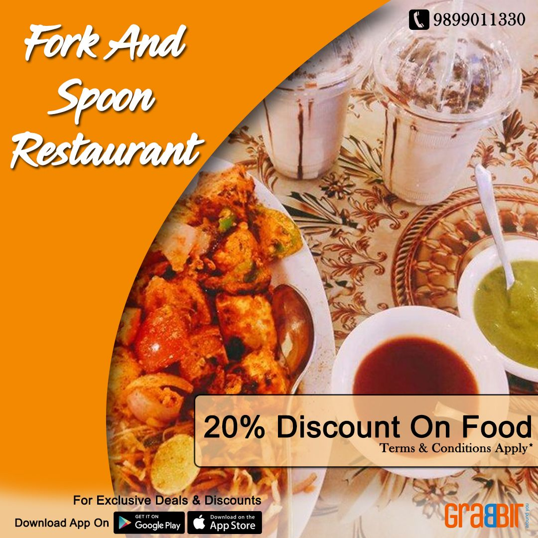 Fork And Spoon Restaurant Only On Grabbit Media App Food Food Terms Restaurant