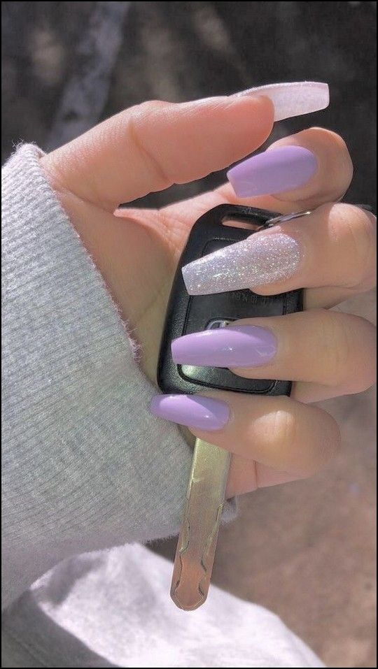 133+ most eye catching different color coffin nails for prom and wedding page 29 #coffinnails