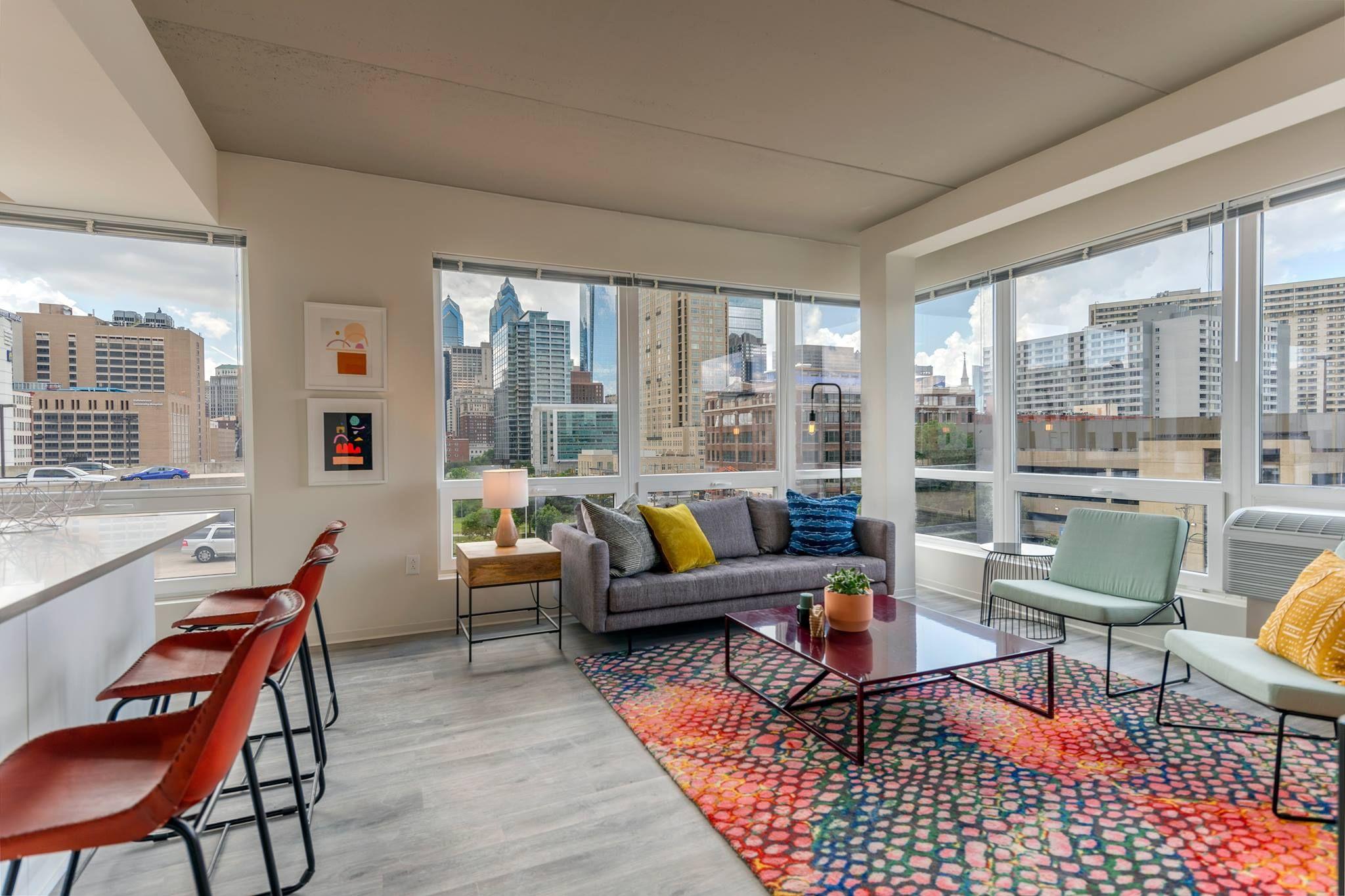 The Hamilton Apartments Philadelphia Pa Ava Smpl Spartansurfaces Floorscore Lvt Interiordes Residential Design Multifamily Housing Interior Design