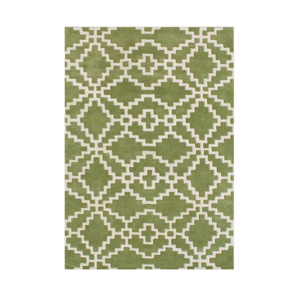Handmade Lime Green Blended Wool Rug 8 X 10 By Alliyah Rugs Bedroom RugsLiving
