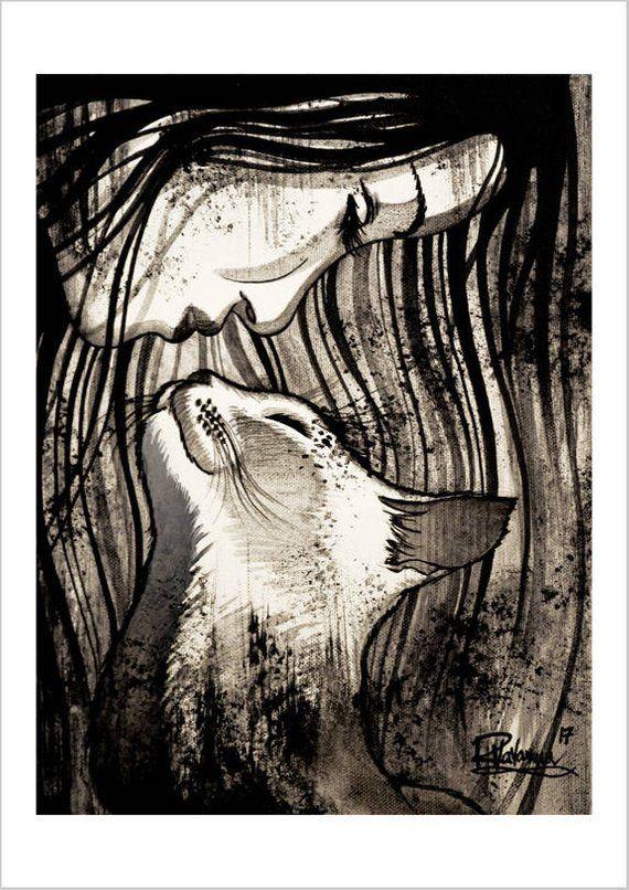 The cat kiss