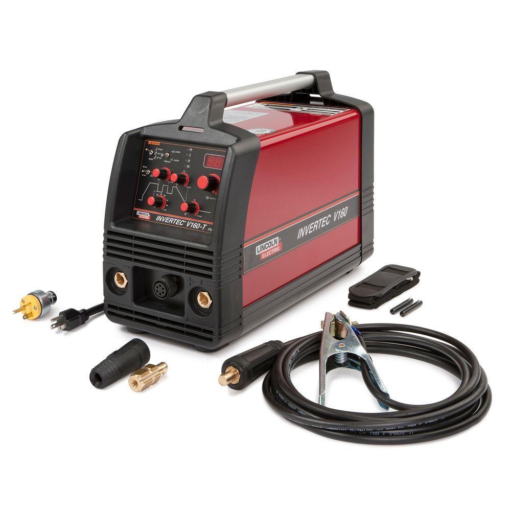 Lincoln Electric 160 Amp Invertec V160-T TIG Welder, Single