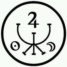Divine Prosperity Sigil For good results, copy or draw this sigil