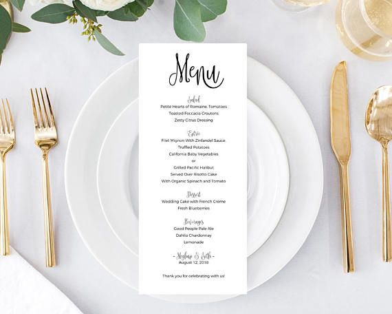 menu templates instantly download edit and print your own menus