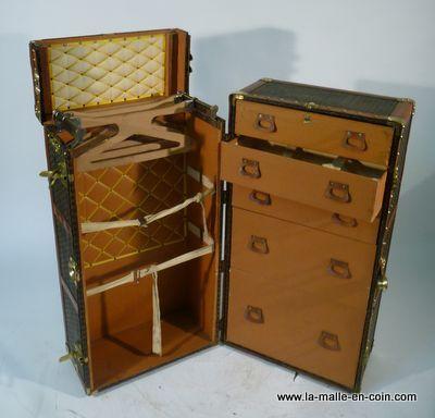 malle armoire wardrobe | home | pinterest | malle, valises et