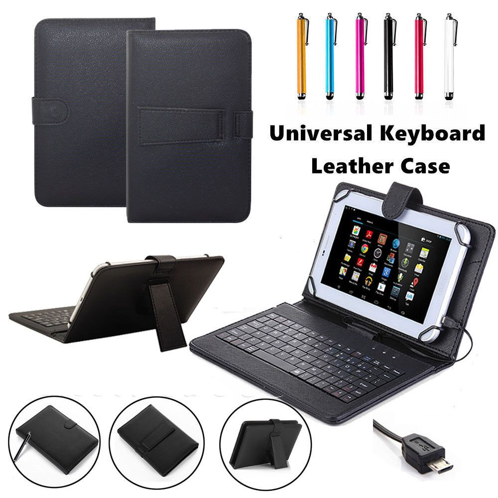 12.99 Micro Usb Leather Keyboard Case Cover For Amazon