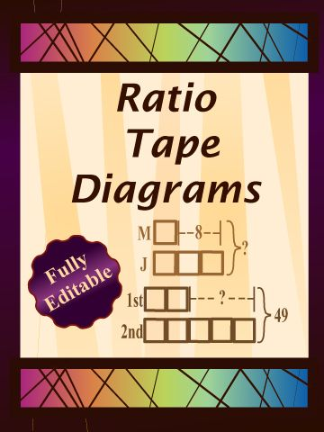 Ratio tape diagrams sixth grade math pinterest diagram ratio tape diagram worksheets contain twenty four questions providing plenty of opportunities for demonstration ccuart Choice Image
