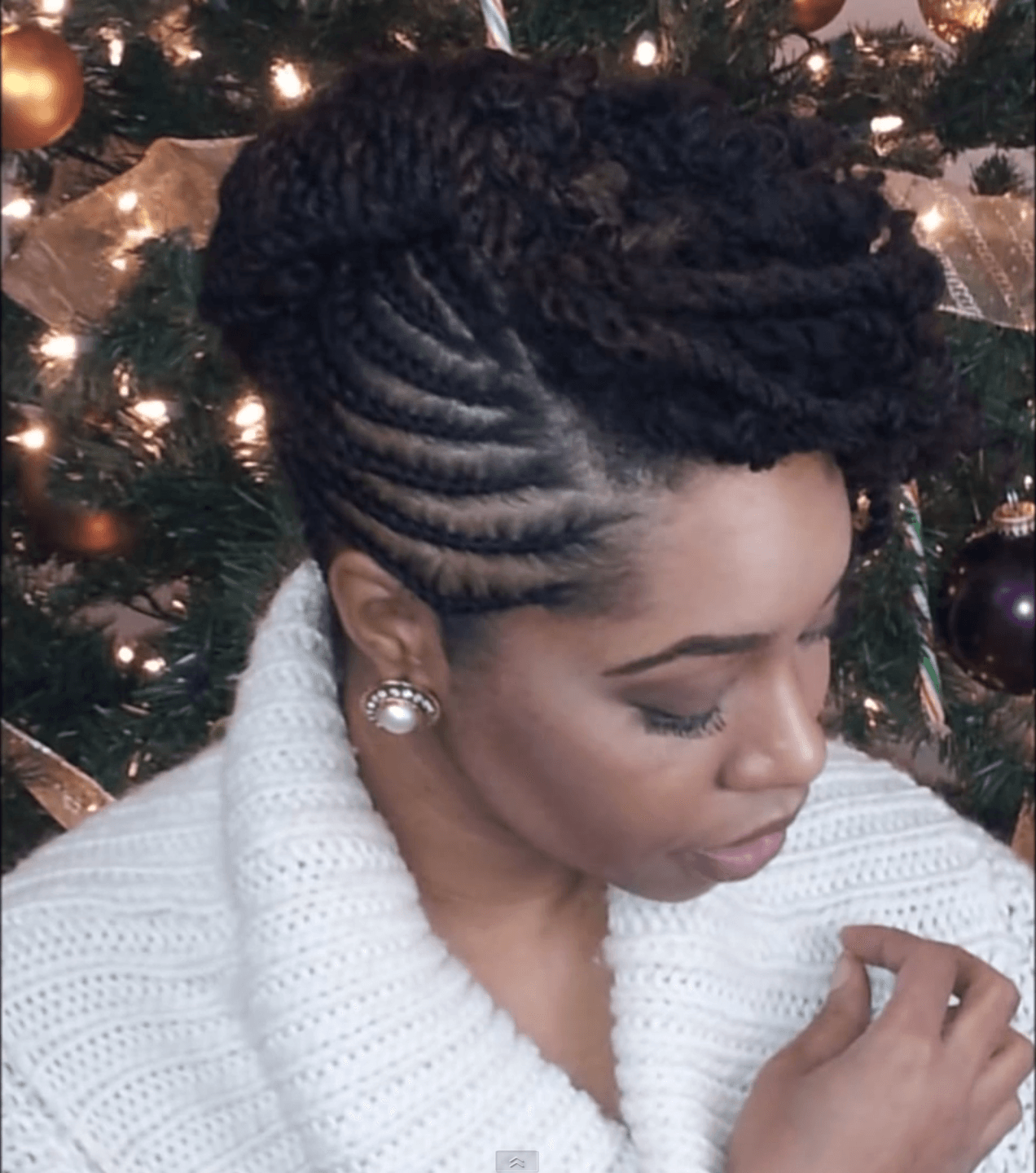 Awe Inspiring 5 Fun Natural Hair Styles To Bring In The New Year Fun Holiday Hairstyle Inspiration Daily Dogsangcom