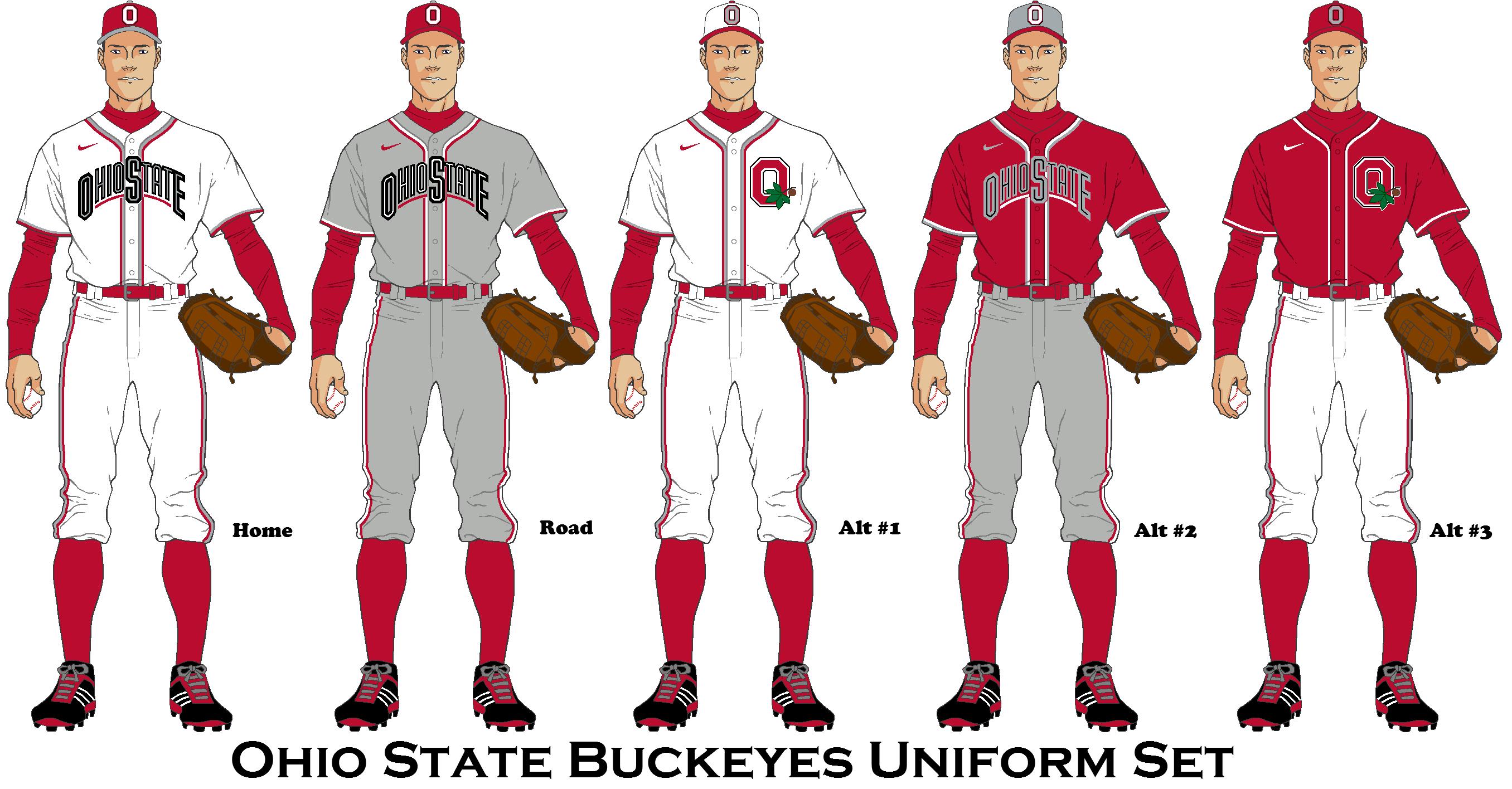 Ohio State Buckeyes Baseball Uniform Concept Bearcats Baseball Cincinnati Bearcats Baseball Uniform