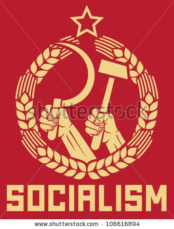Modern Socialism Clip Art