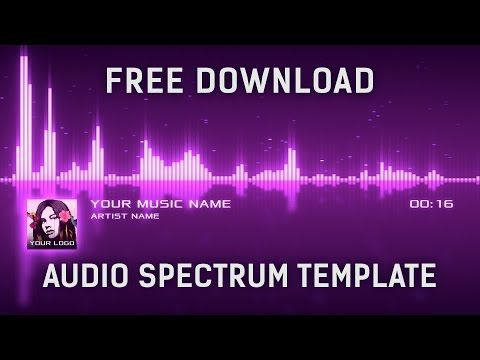 Audio Spectrum Visualizer After Effects Template [Free ...