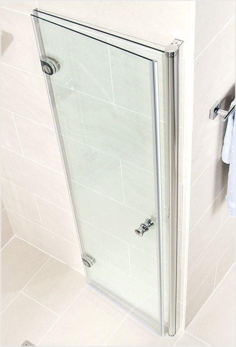 Schulte Garant Drehfalttur In Nische Kleiner Duschraum