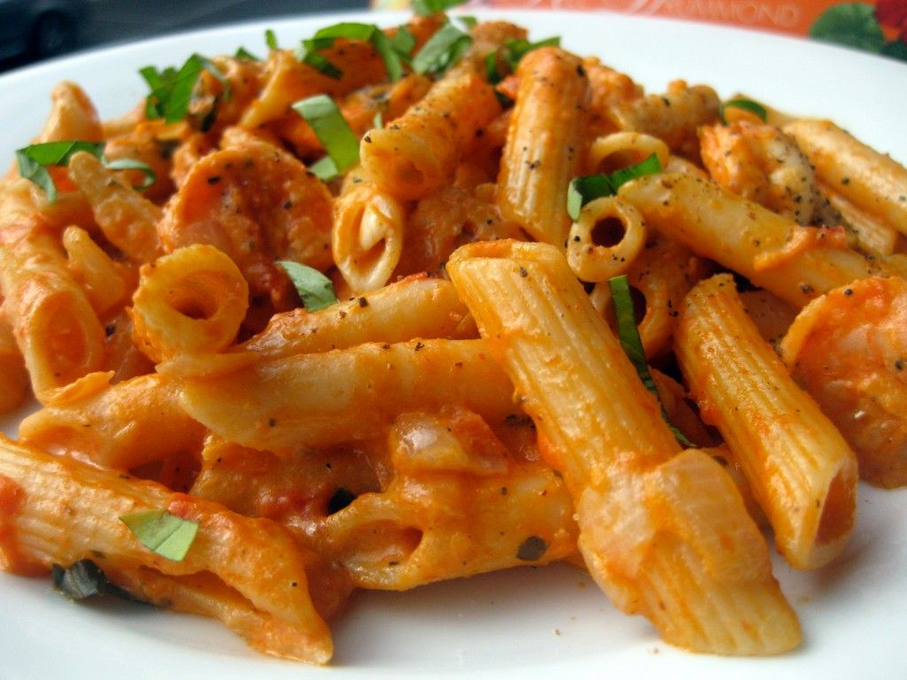 Penne alla Betsy This was amazing! It reminded Patrick of four ...