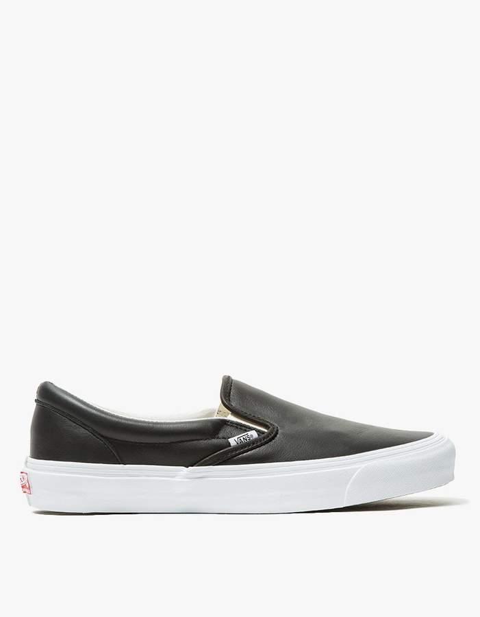 Vans OG Leather Classic Slip-On LX
