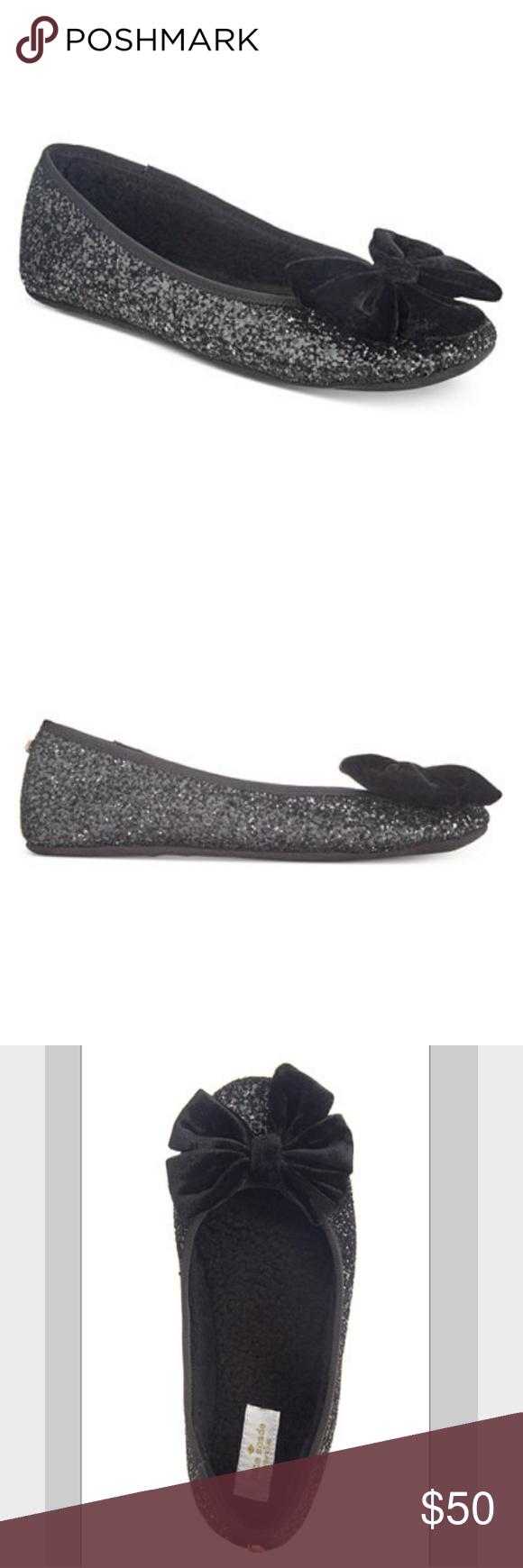 kate spade sussex glitter ballet slippers ballet style colour